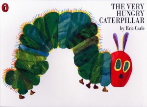 The book of the month – The very hungry caterpillar